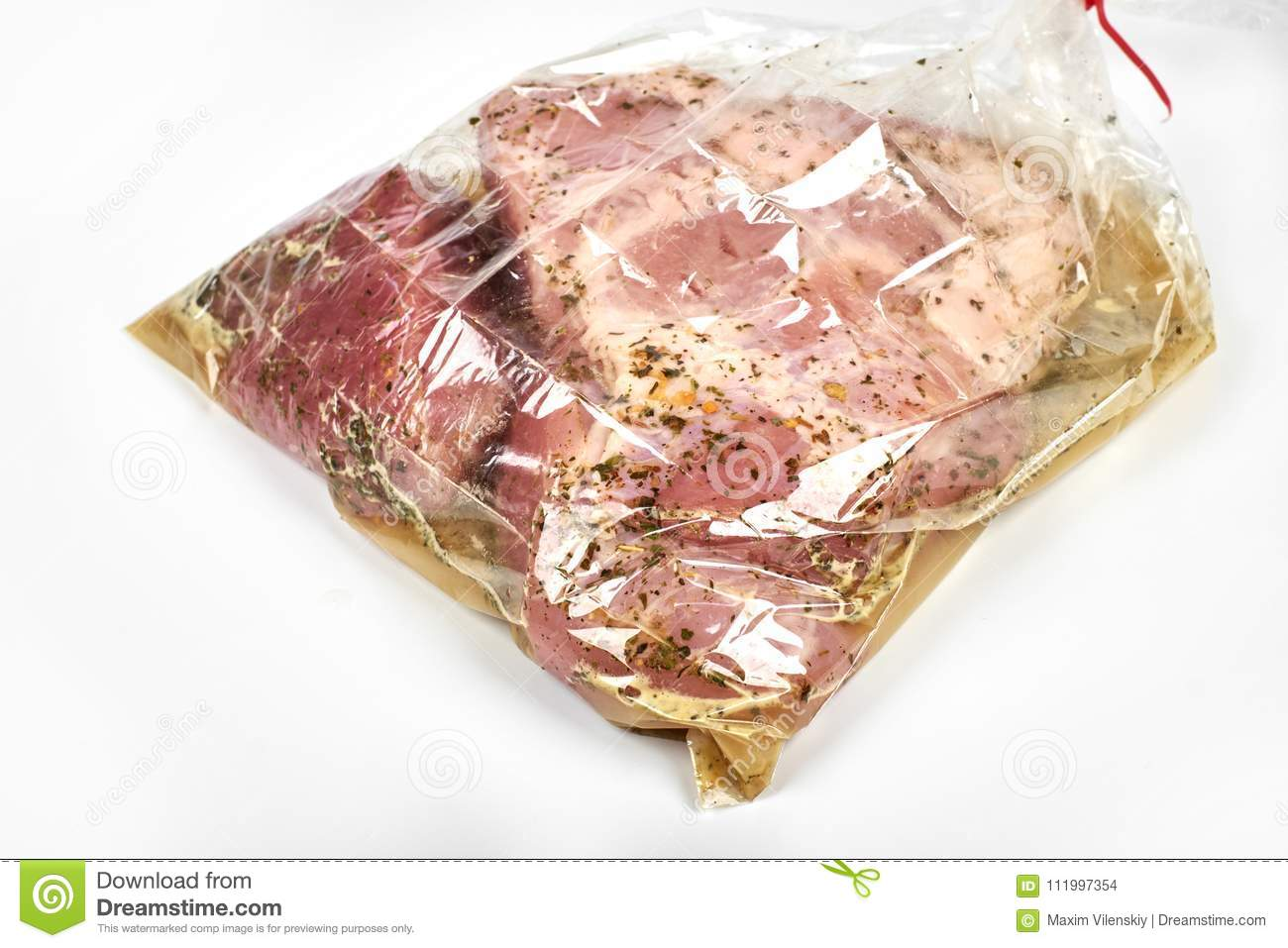 How to cook meat baked in a sleeve