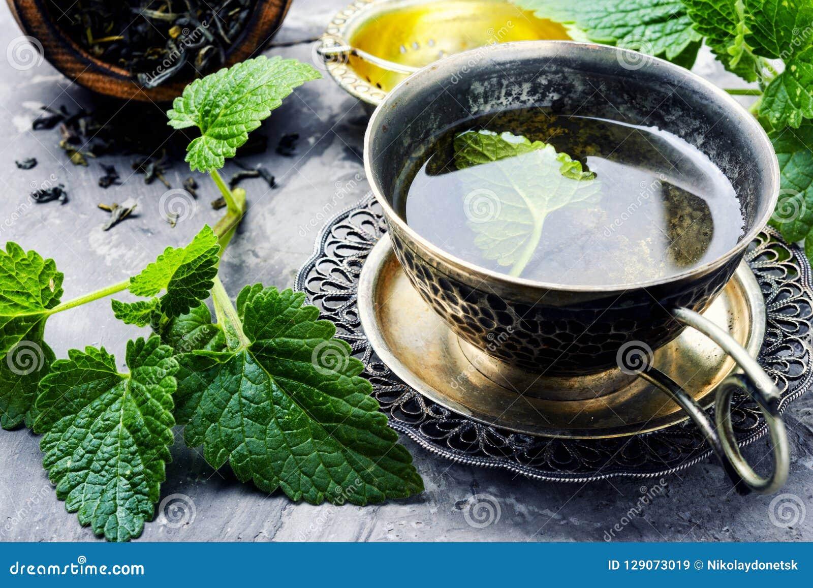 Cup of melissa tea