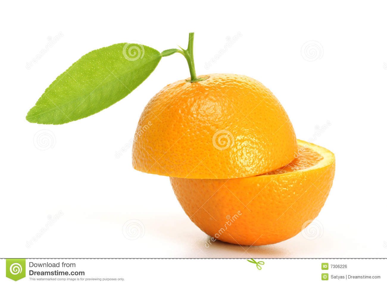 Fresh Orange Fruit Halves Royalty Free Stock Image - Image ...