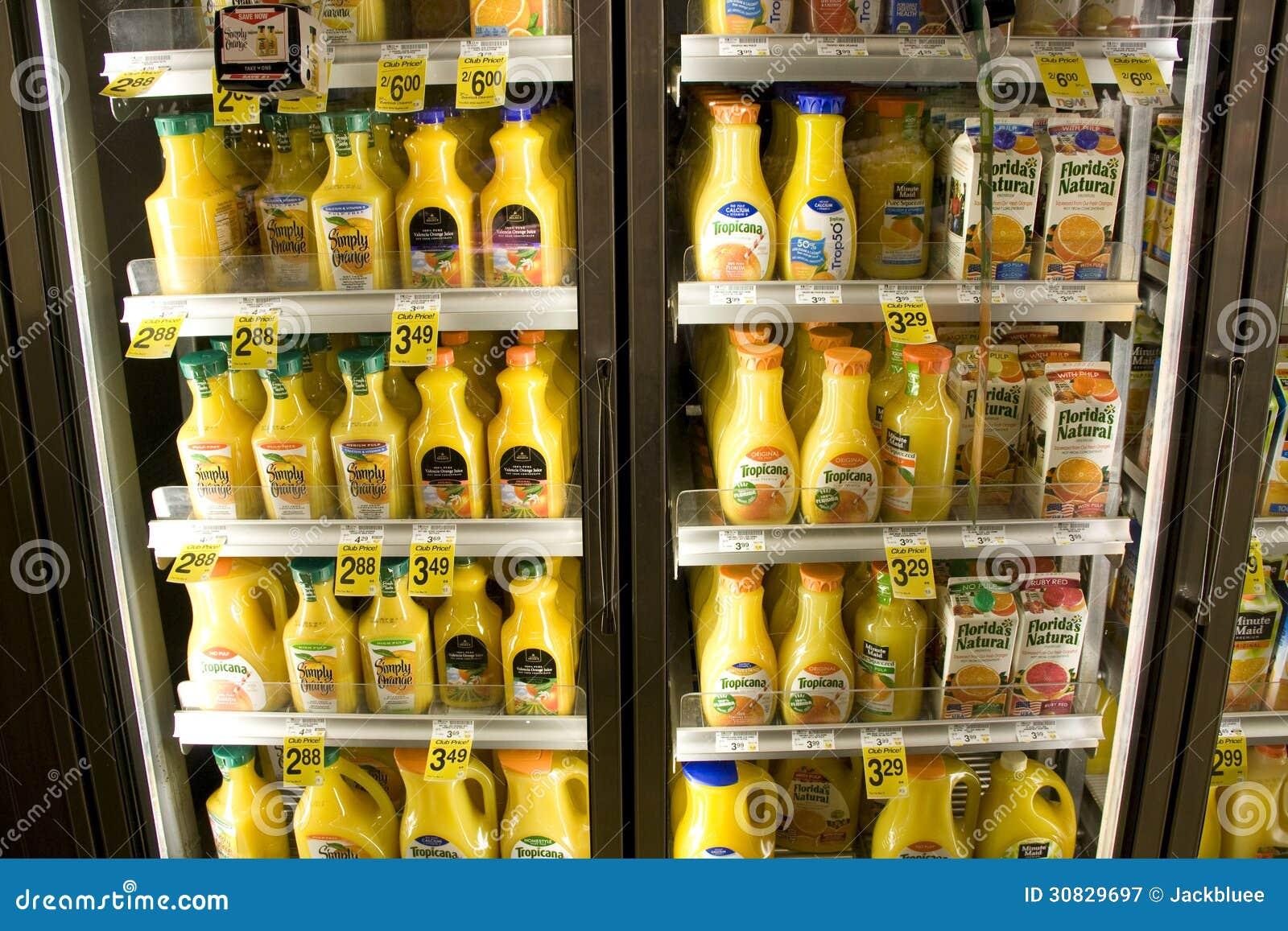 Fresh Orange Juice Editorial Photography Image 30829697