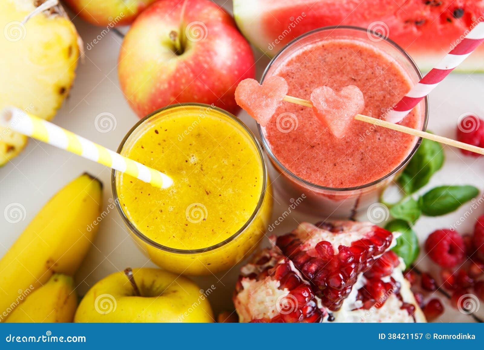apple banana watermelon smoothie