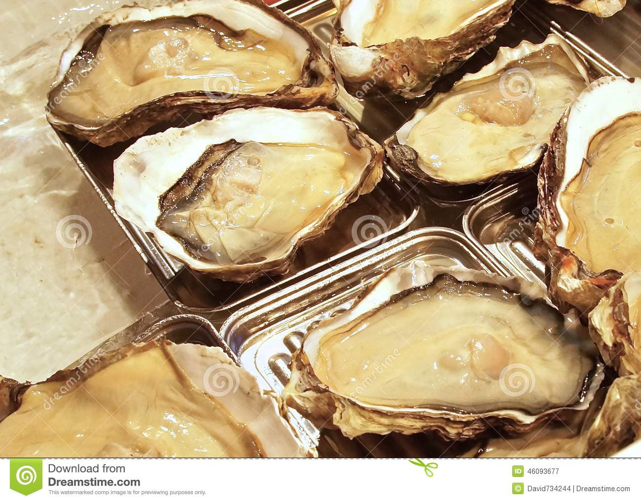 Fresh raw oysters - photo#15