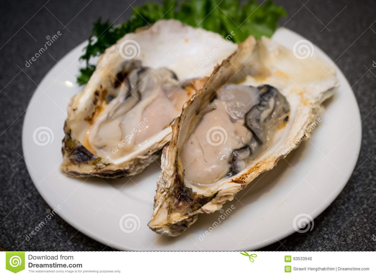 Fresh raw oysters - photo#20