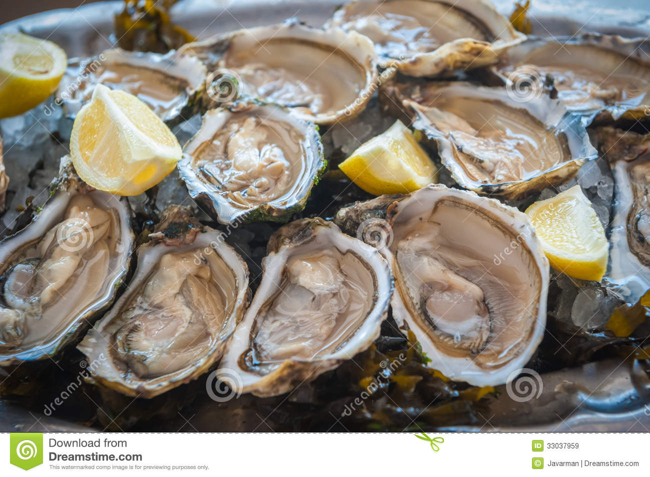Fresh raw oysters - photo#8
