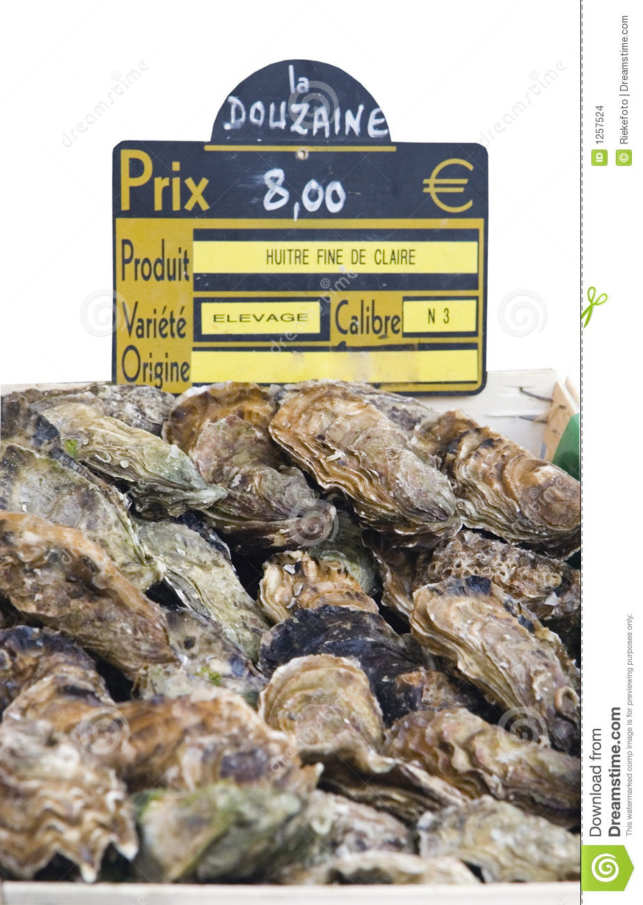 Fresh Oysters For Sale With Price Label Stock Images ... - photo#20