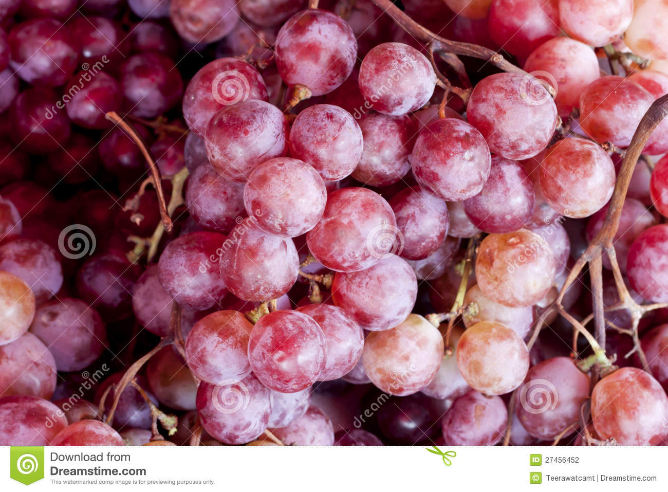 Fresh Purple Grape Fruit Background, Stock Photography - Image ...