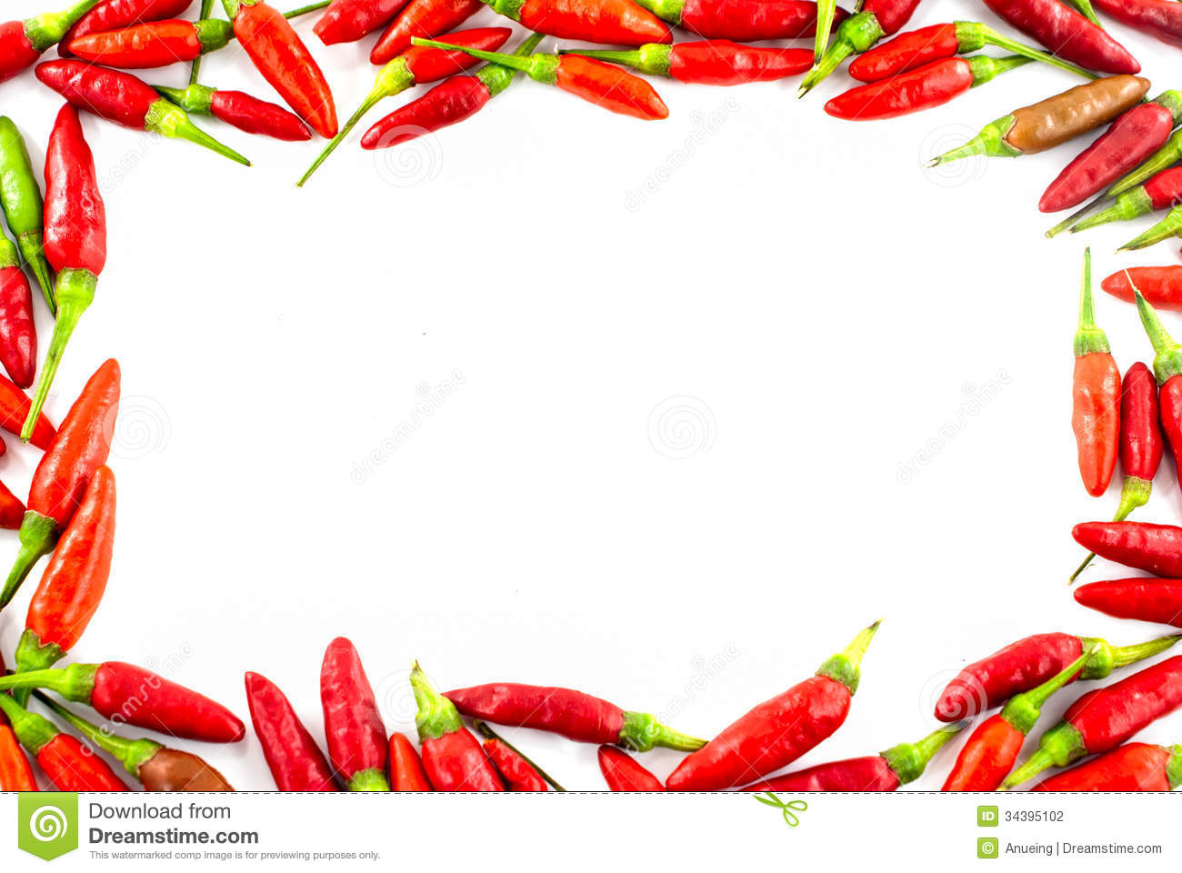 fresh red pepper border stock photo image of mexico Grocery Border Page Borders