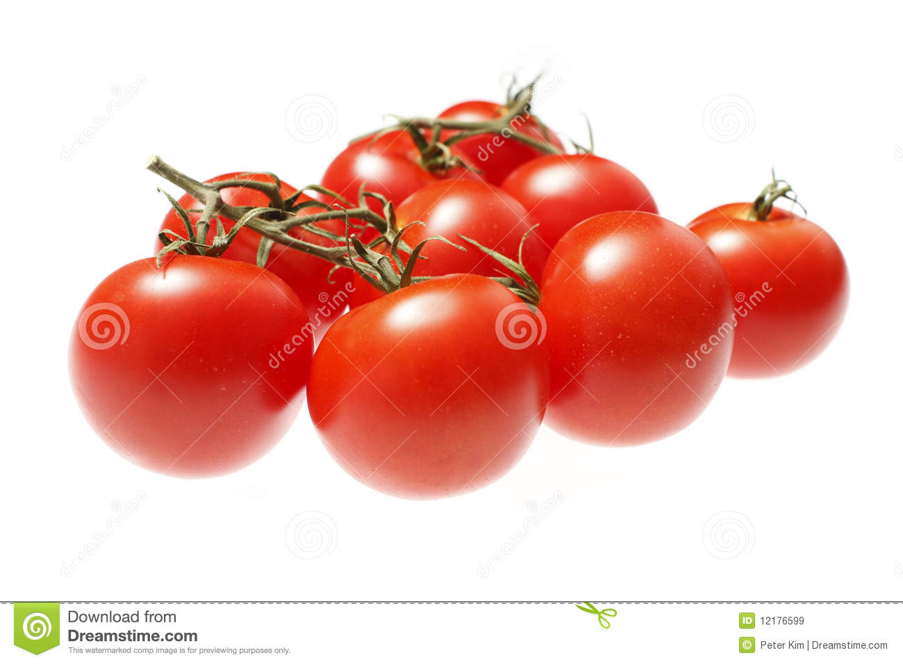 Fresh Red Tomatoes Royalty Free Stock Images - Image: 12176599