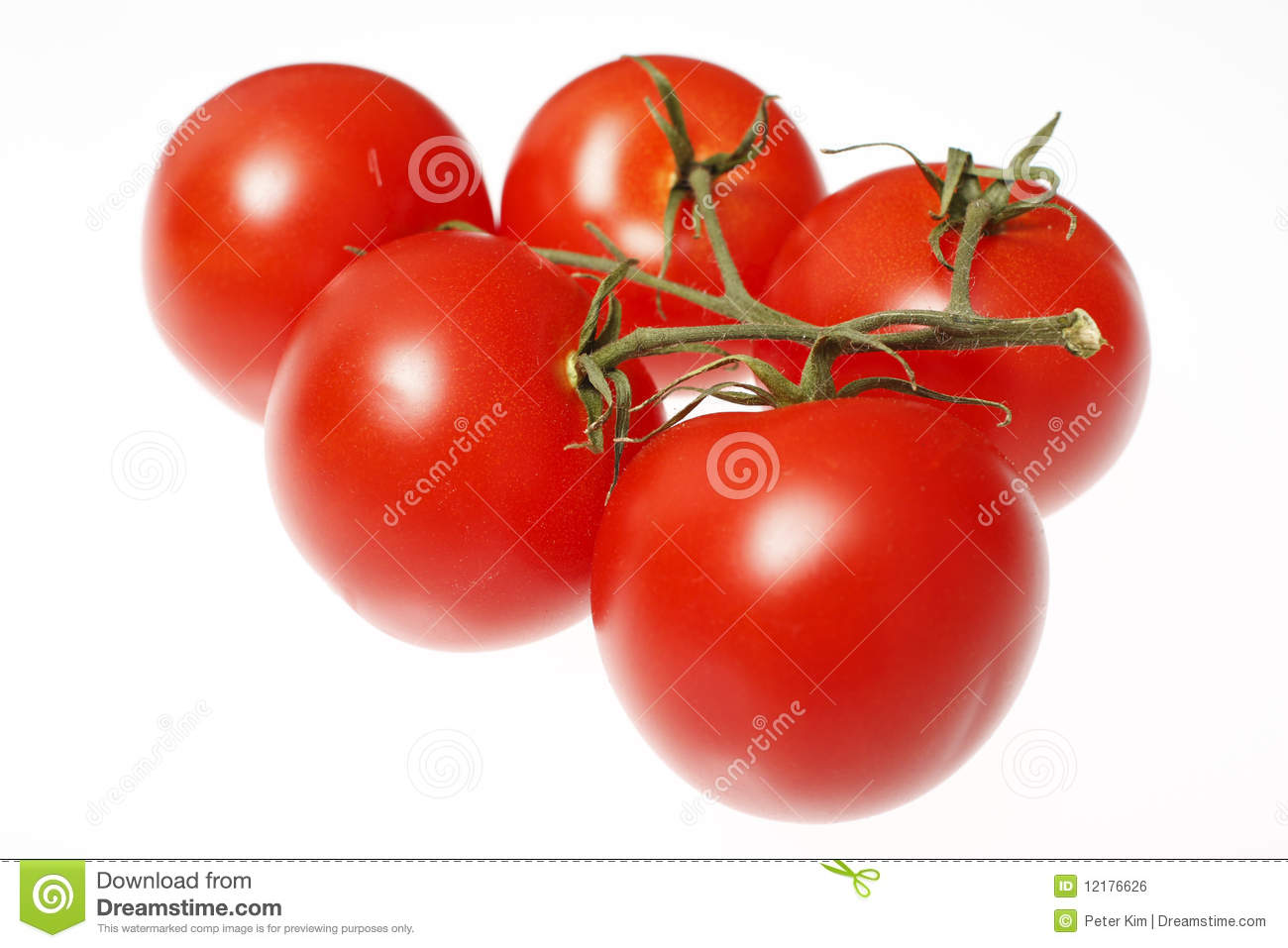 Fresh Red Tomatoes Royalty Free Stock Image - Image: 12176626