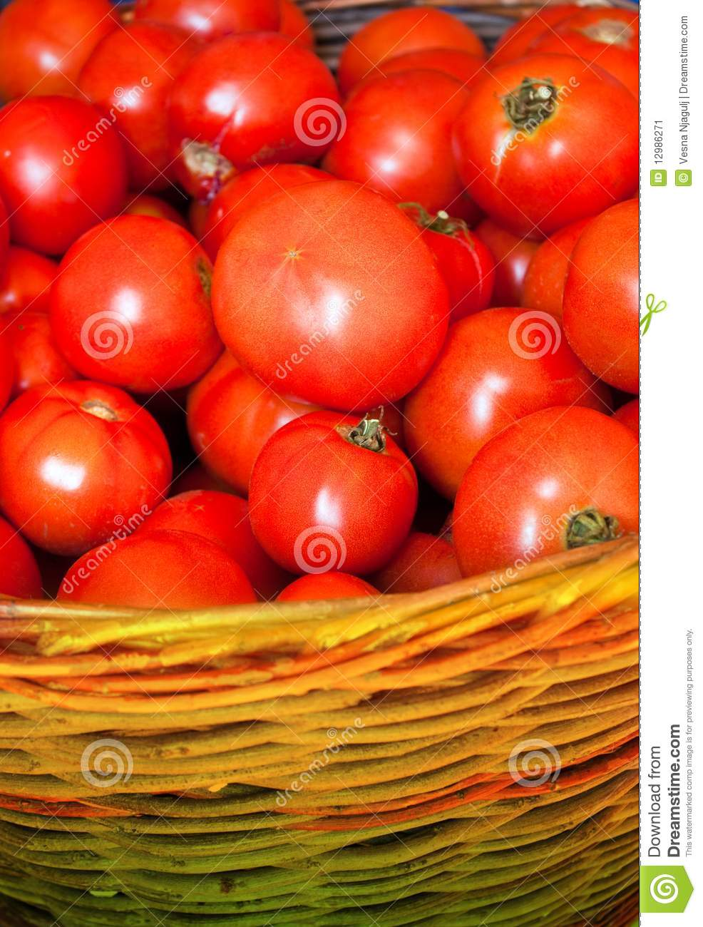 Fresh red tomatoes stock image. Image of moisture ...