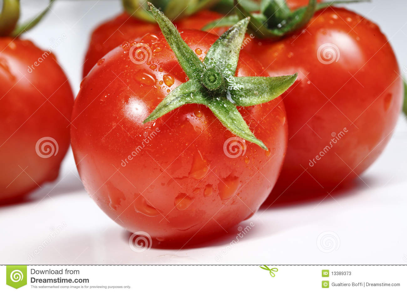 Fresh Red Tomatoes Stock Photos - Image: 13389373