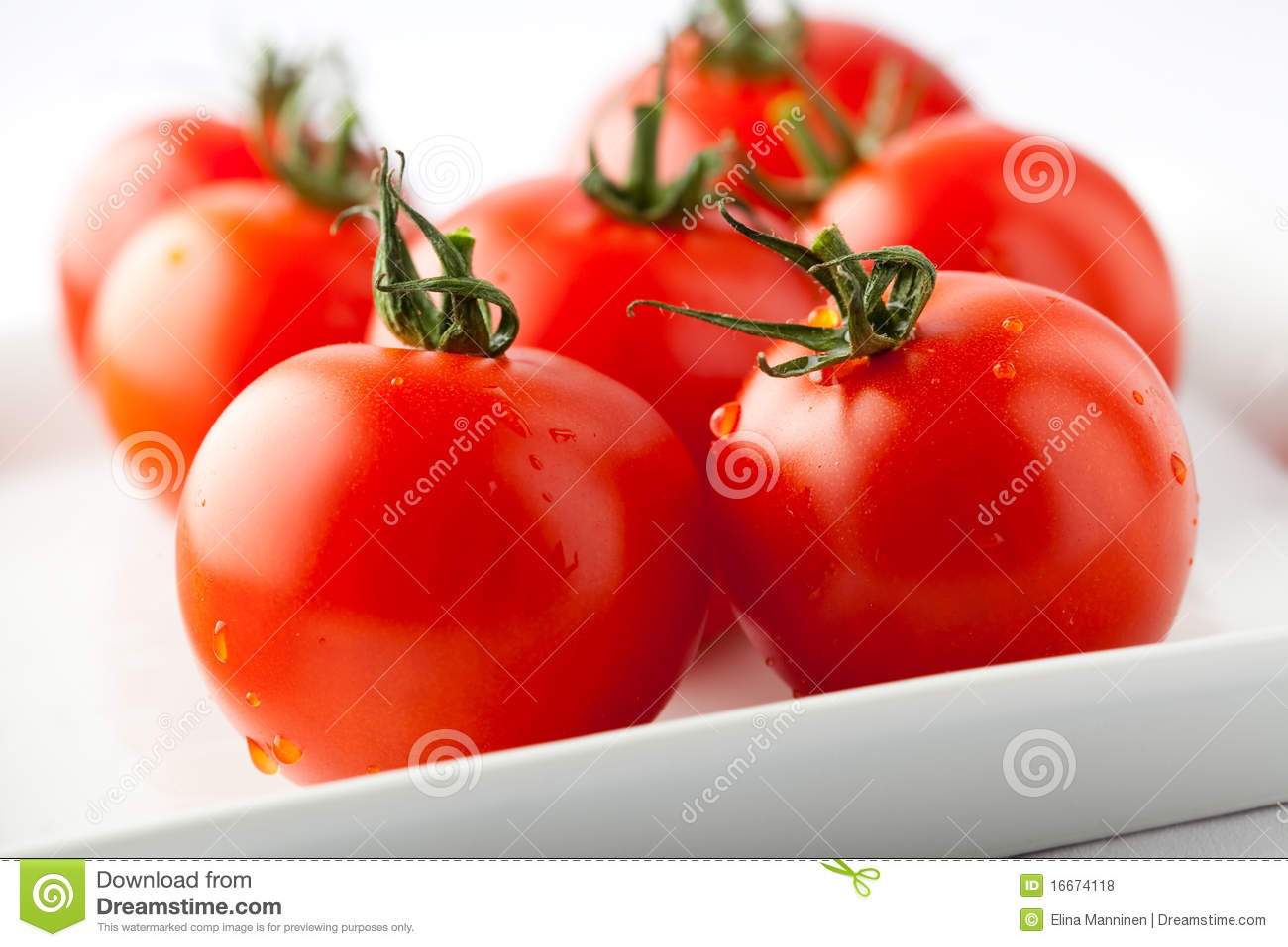Fresh Red Tomatoes Royalty Free Stock Photos - Image: 16674118