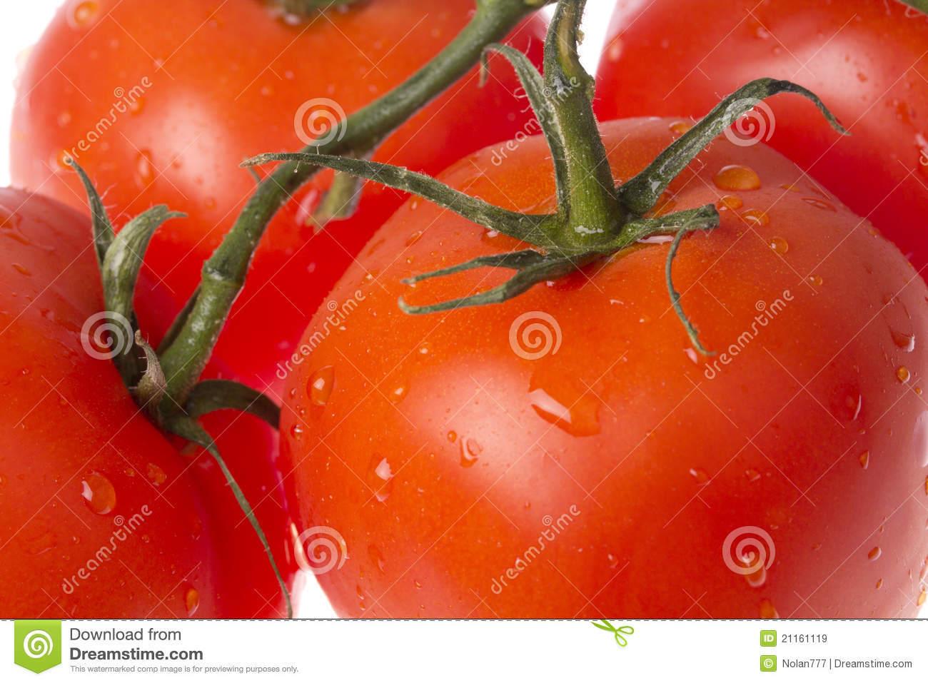 Fresh Red Tomatoes Royalty Free Stock Images - Image: 21161119