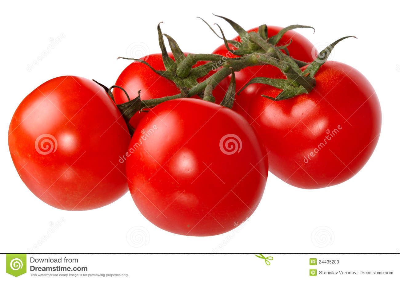 Fresh Red Tomatoes Stock Photos - Image: 24435283