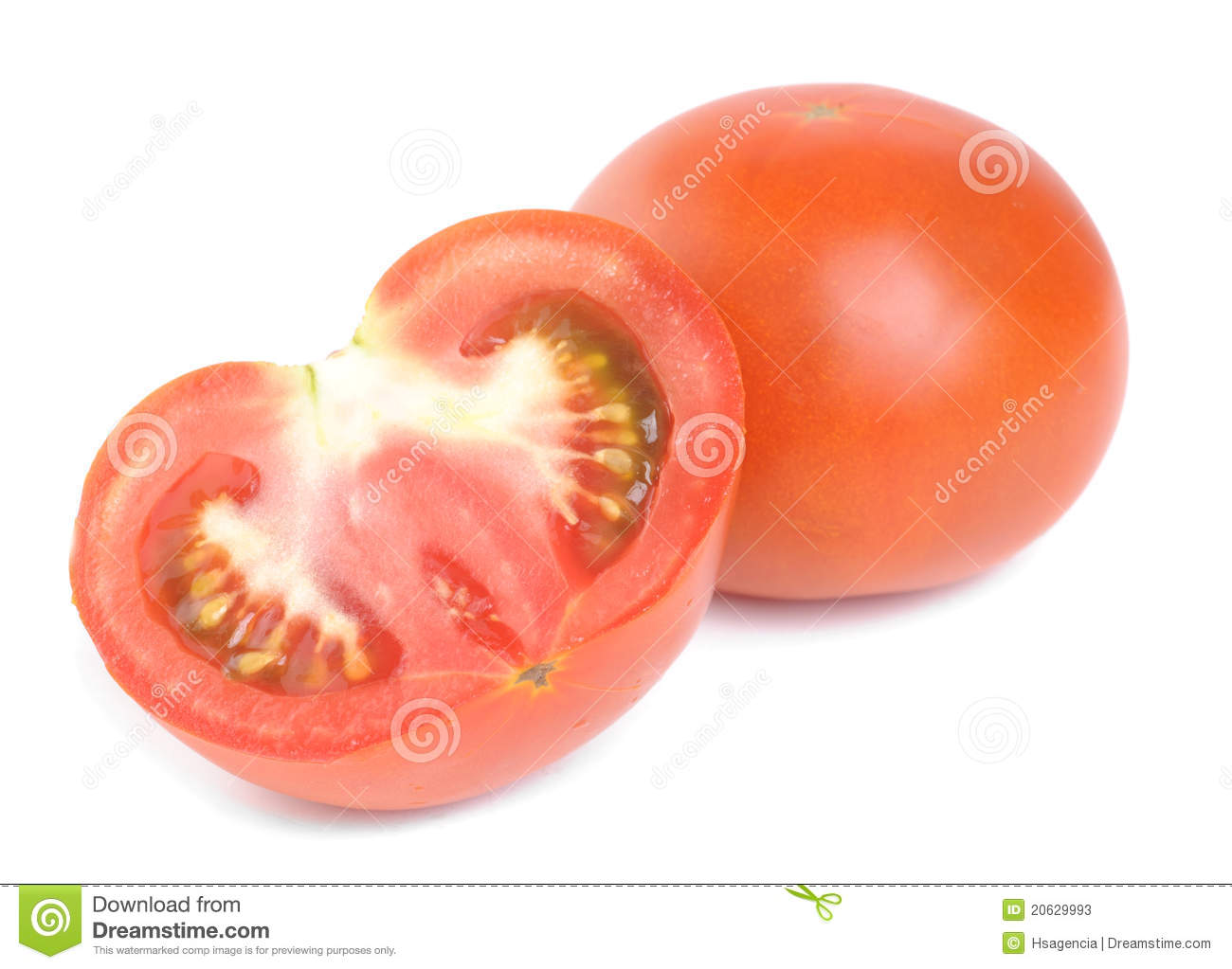 Fresh Red Tomatoes Isolated On White Stock Photos - Image ...