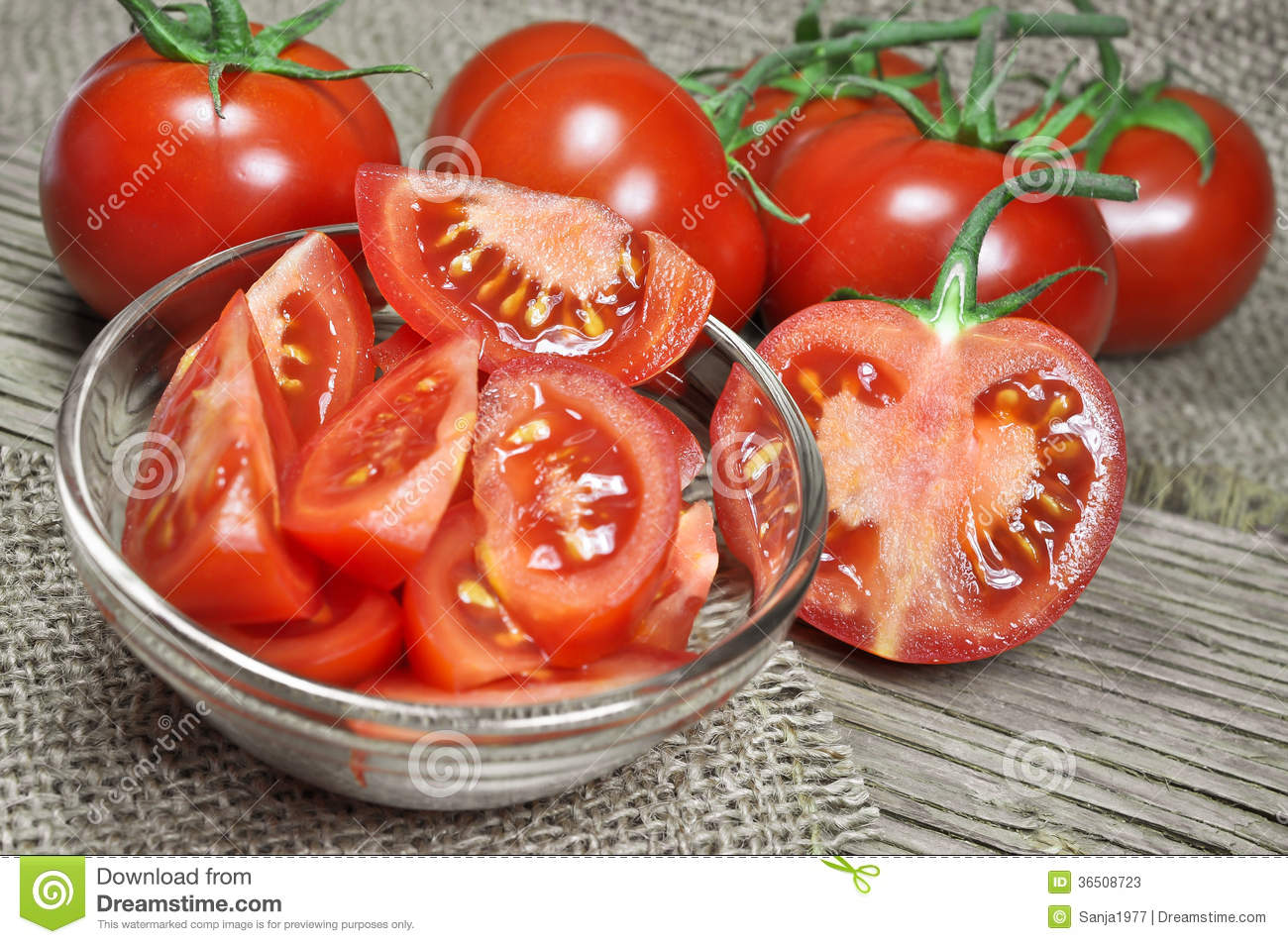 Fresh Red Tomatoes Stock Photos - Image: 36508723