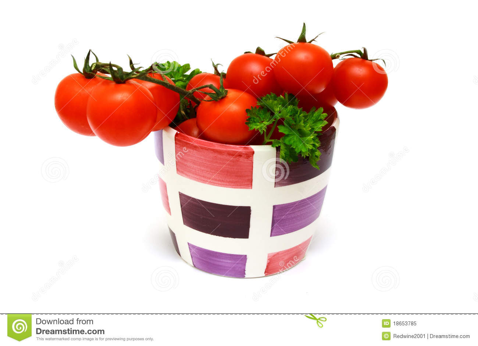 Fresh Red Vine Tomatoes Royalty Free Stock Photo - Image ...