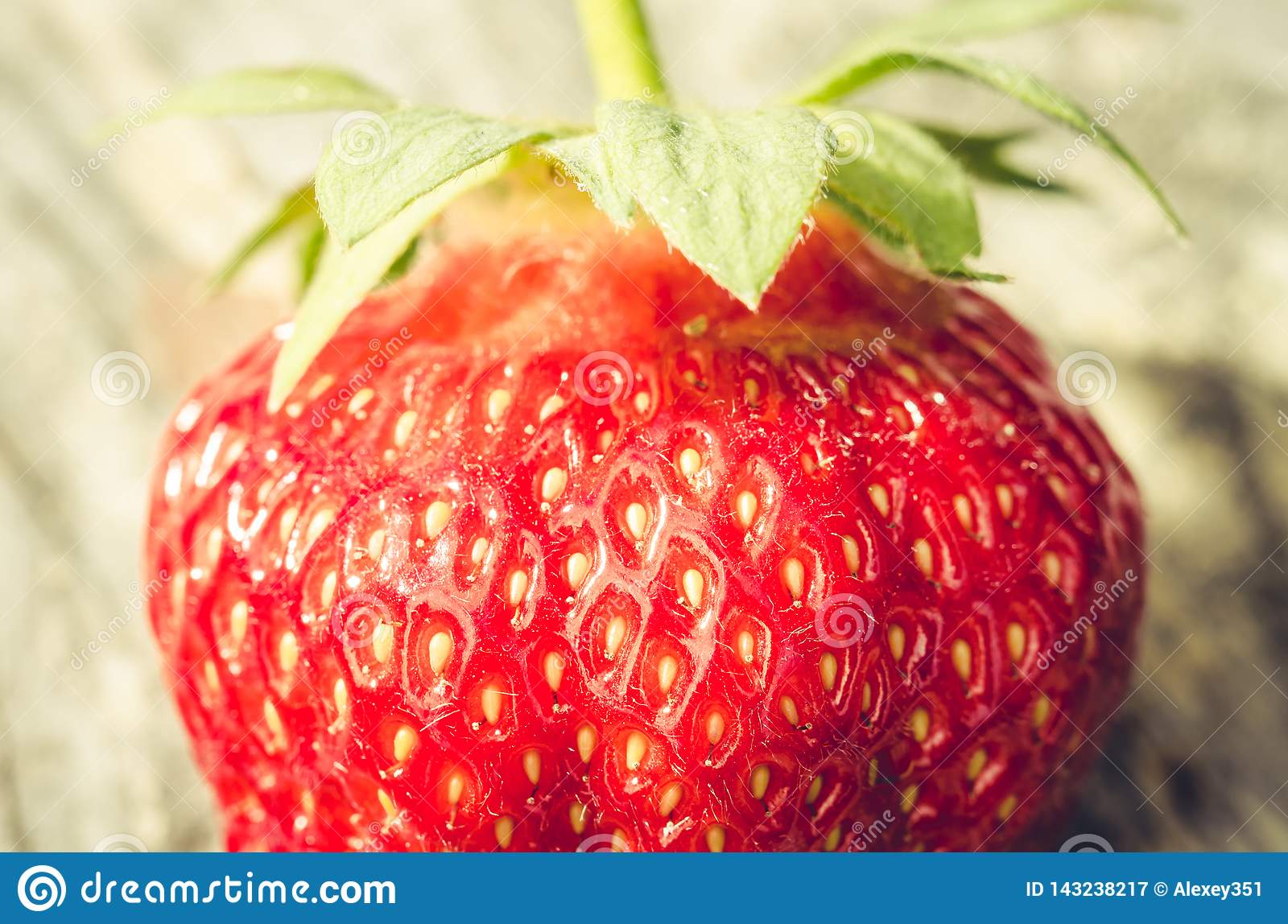 Fresh ripe juicy strawberry/fresh ripe juicy strawberry close up. Gourmet food