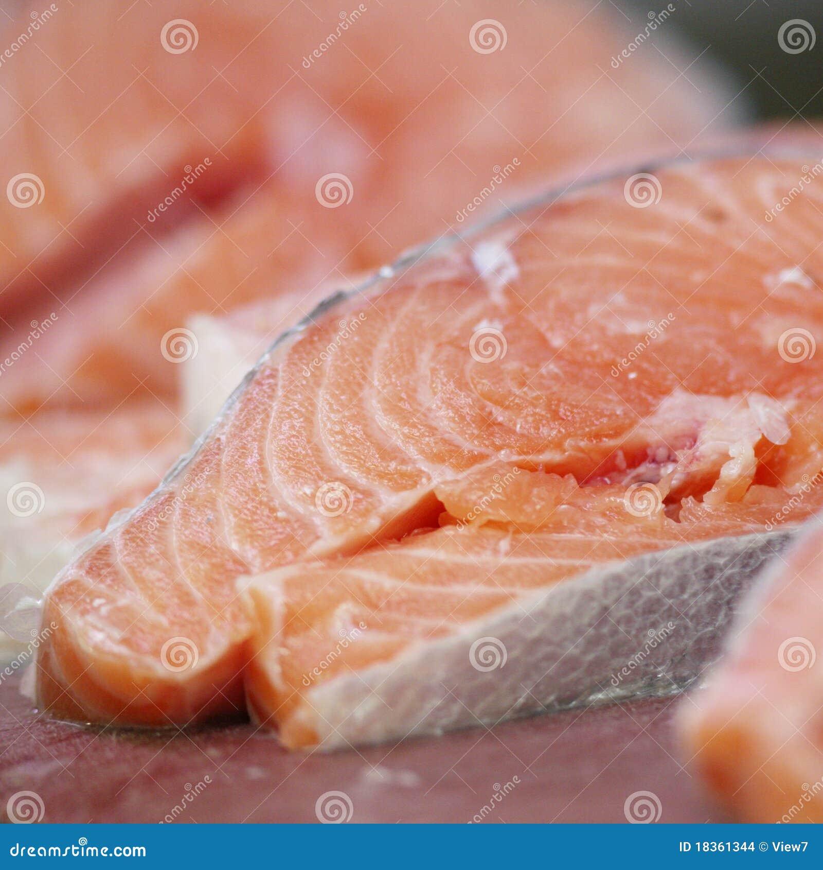 Fresh Salmon Stock Images Image 18361344