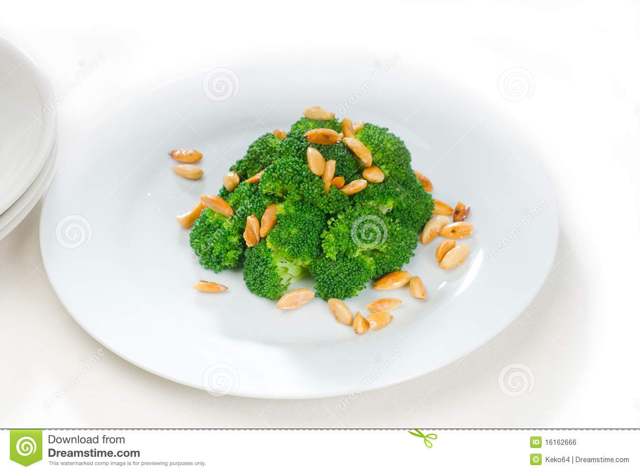 Broccoli, Chicken, And Almond Saute Recipe — Dishmaps