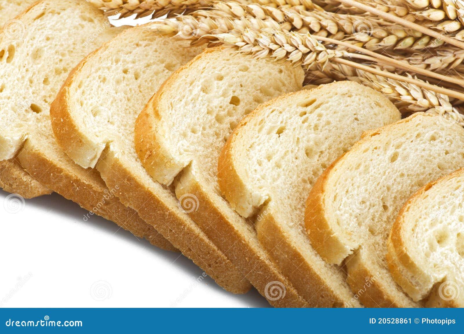 Fresh Sliced Bread Stock Image Image 20528861