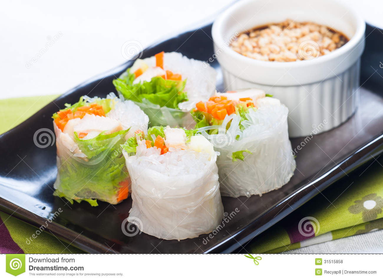 free clipart spring rolls - photo #38