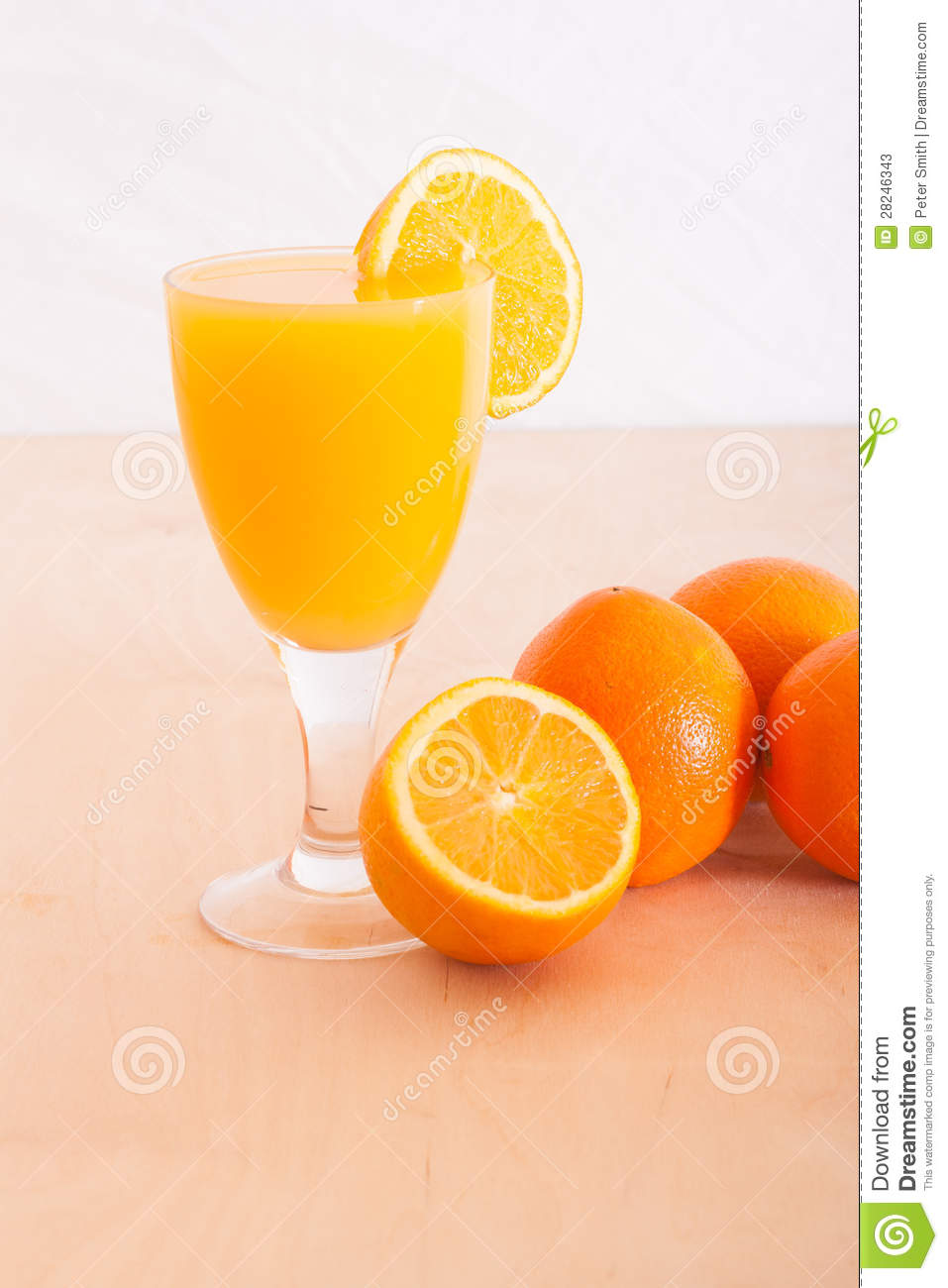 Fresh Squeezed Orange Fruit Juice Slice Stock Photos ...