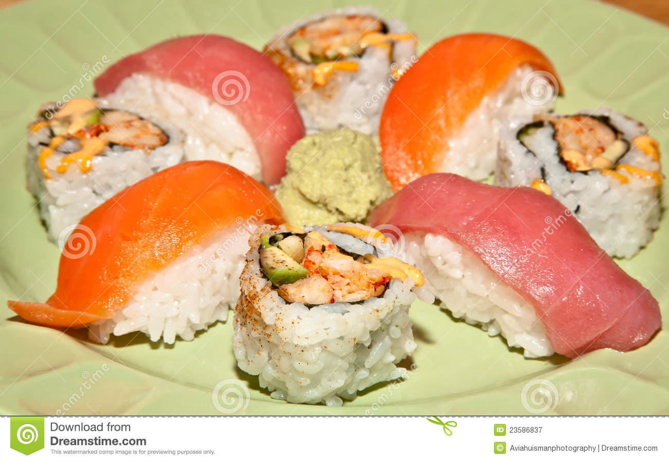 Raw Food Diet Sushi