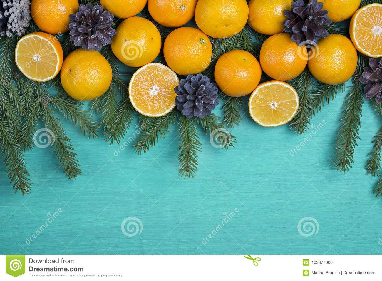 Christmas Clementine Decoration
