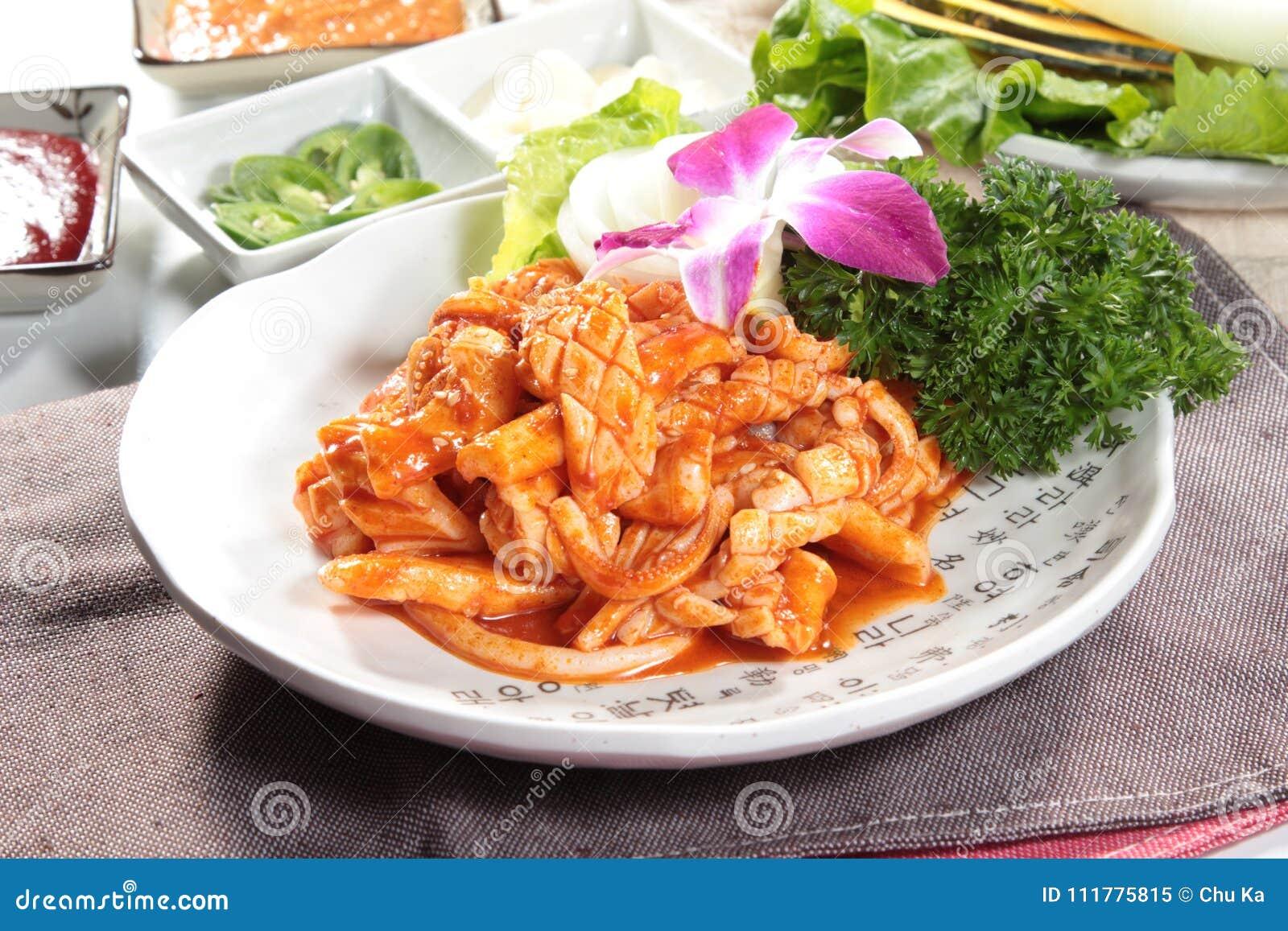 Fresh and tasty seafood cuisine