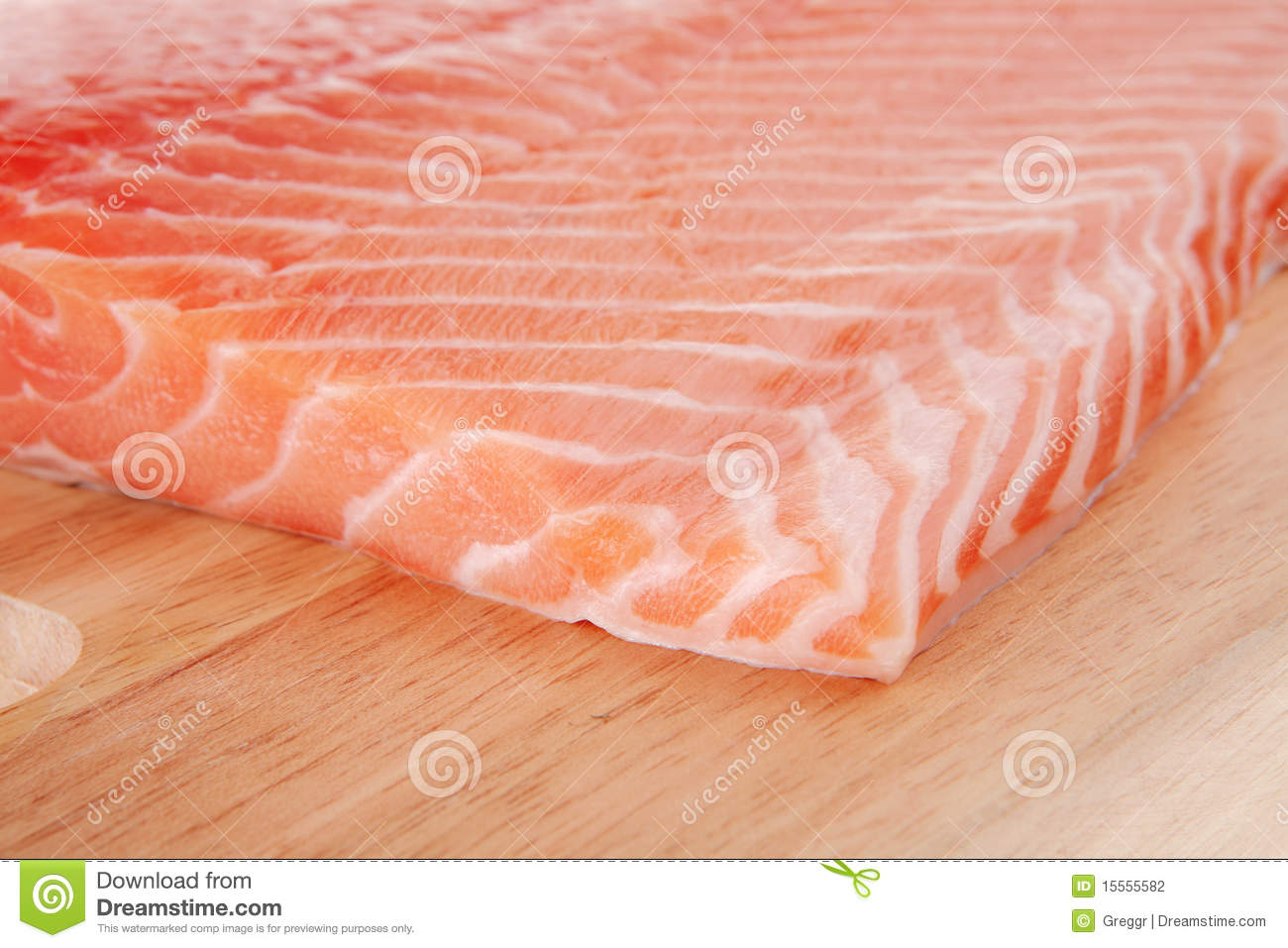 Fresh uncooked red fish fillet on stock photography for Red fish fillet
