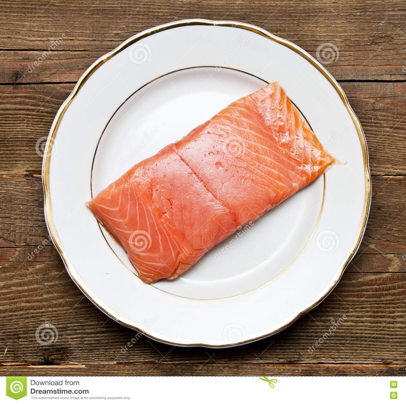 Fresh uncooked red fish fillet stock images image 17796824 for Red fish fillet