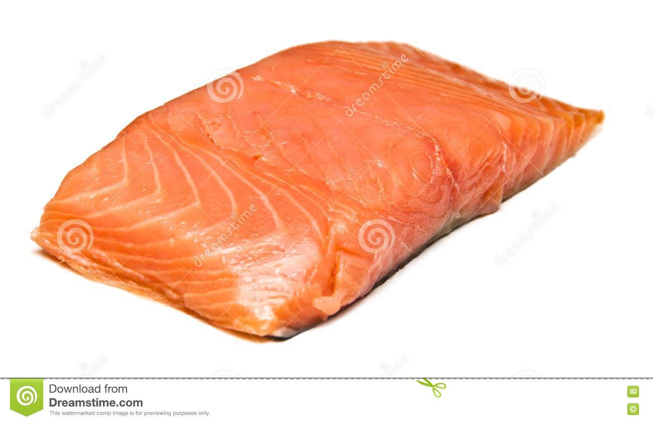 fresh uncooked red fish fillet royalty free stock image