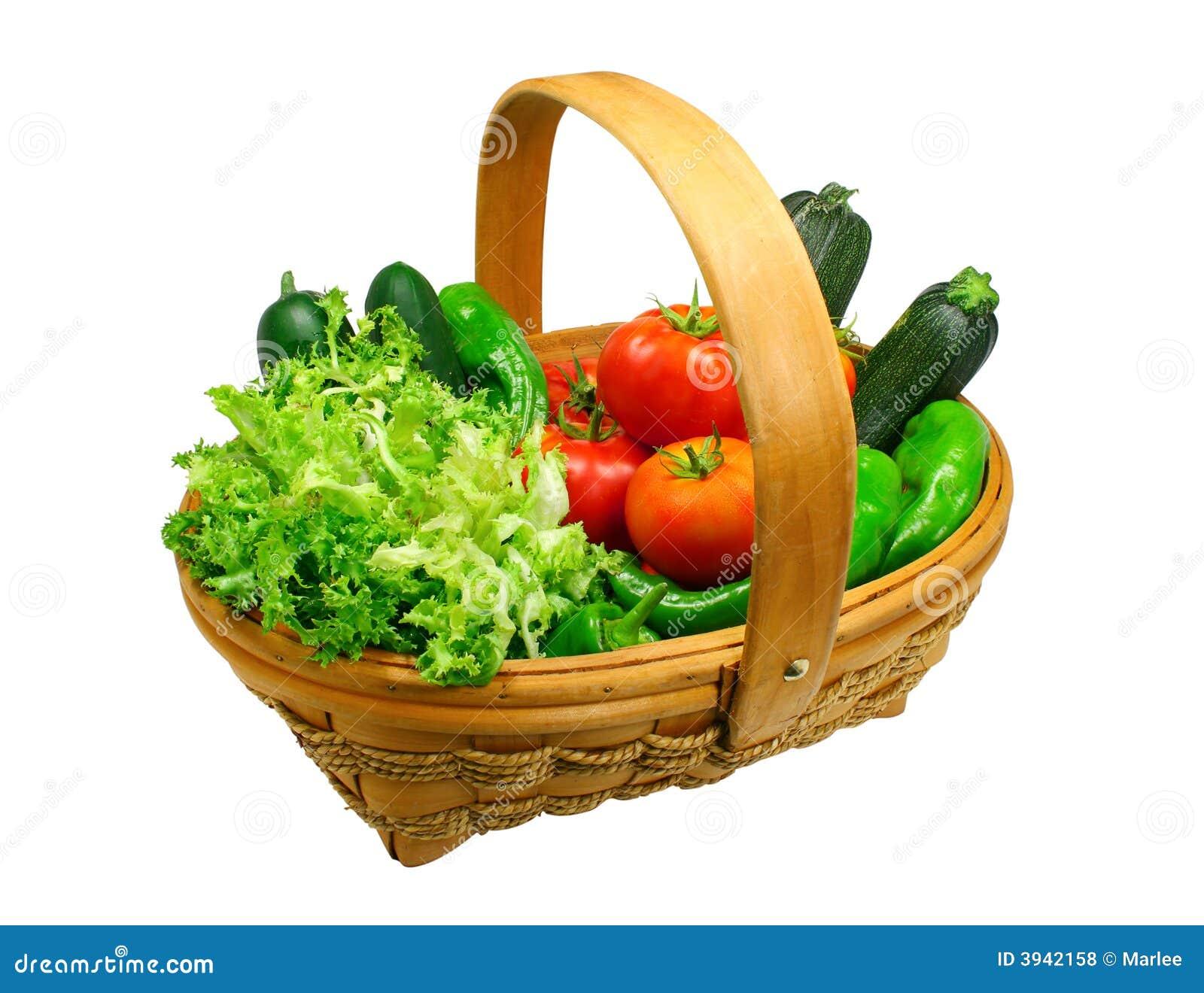 Fresh Vegetables Clipart