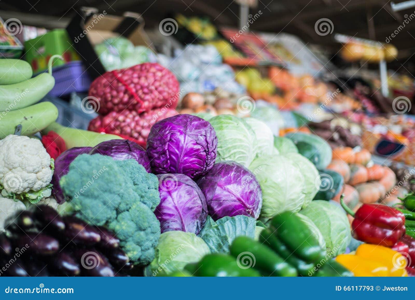 Fresh Vegetables at Dubai Fruit and Veg market.