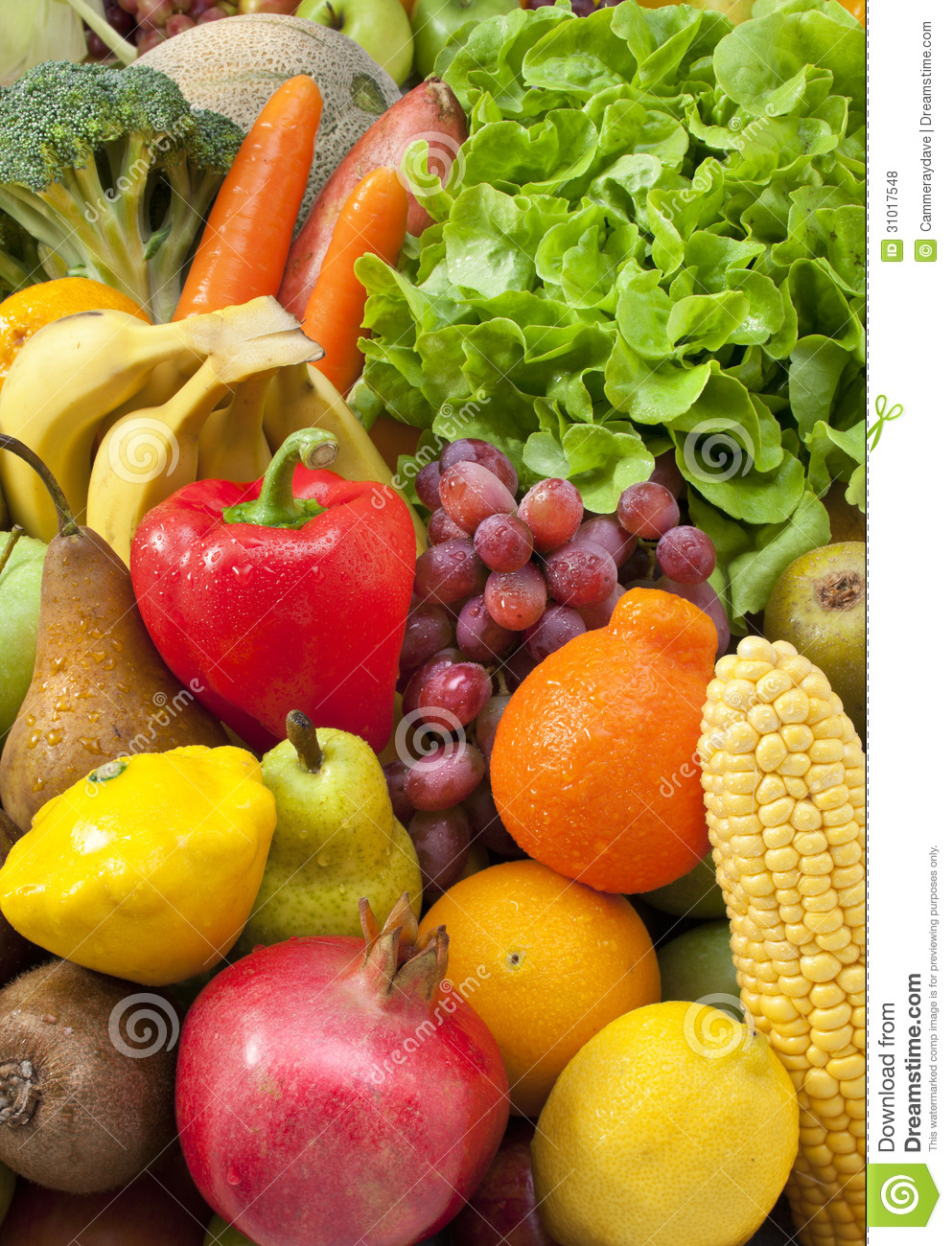Fresh Vegetables Food Fruit