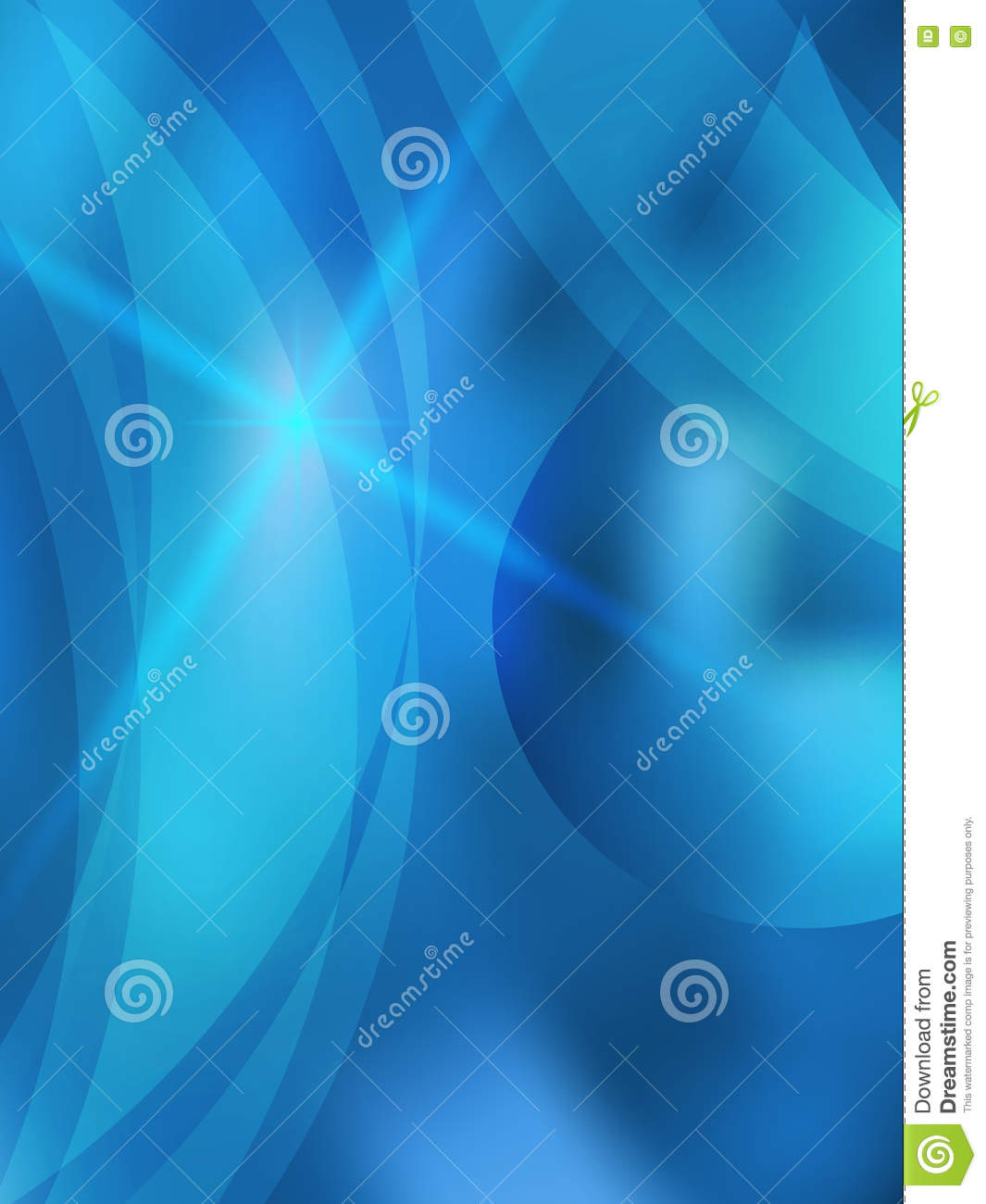 fresh water theme shine cover page a brochure stock vector fresh water theme shine cover page a4 brochure01