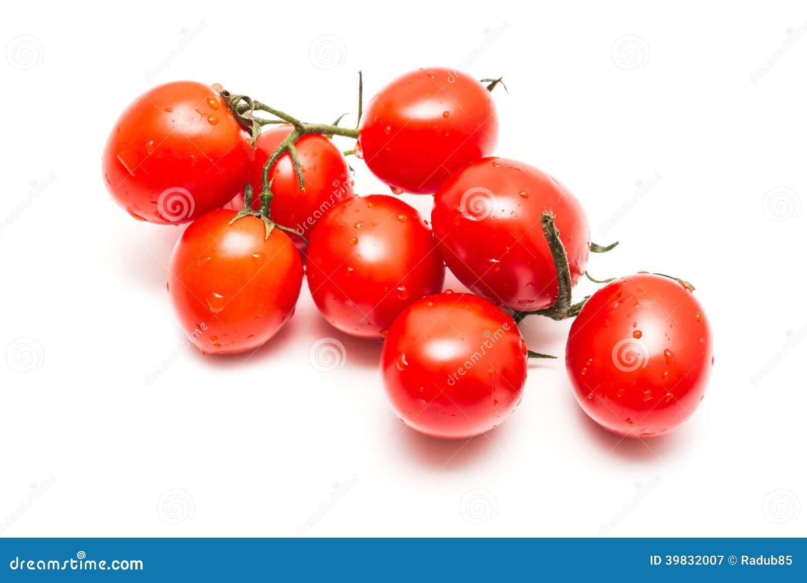 Fresh Wet Red Tomatoes Stock Photo - Image: 39832007