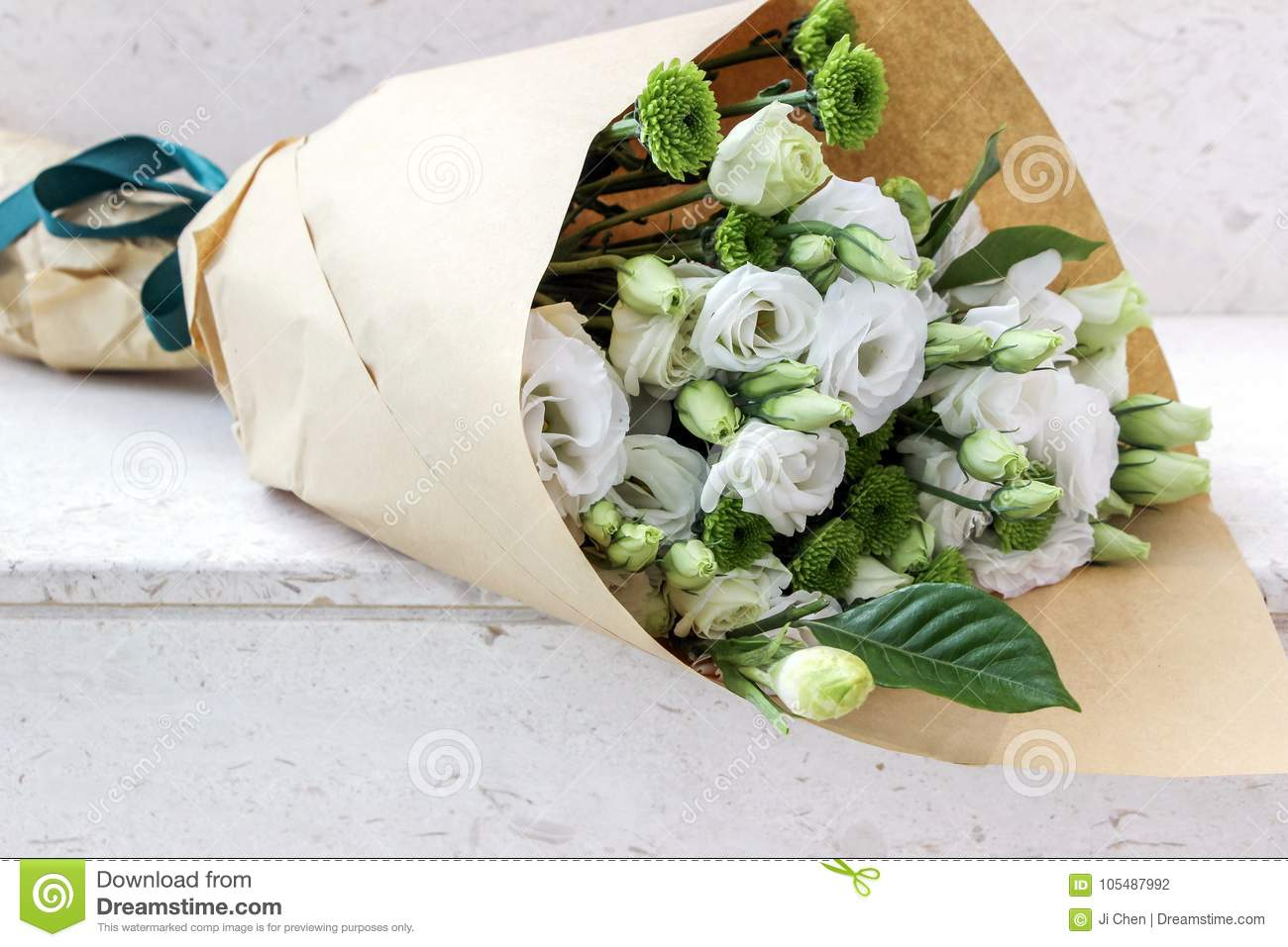 White flowers wrapped in paper stock photo image of closeup download white flowers wrapped in paper stock photo image of closeup flower 105487992 mightylinksfo