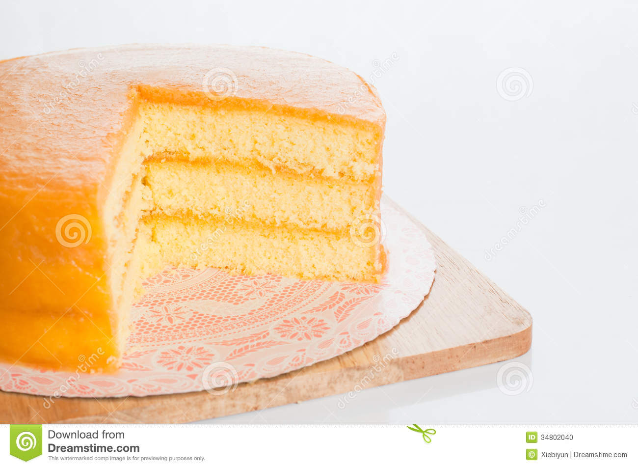 Homemade Starbucks Orange Cake Recipe — Dishmaps