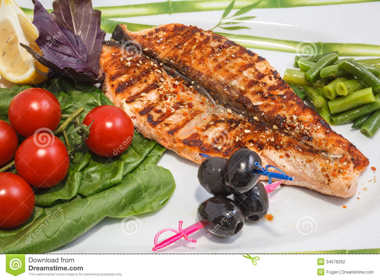 Freshly Cooked Fish Stock Photography - Image: 34578262