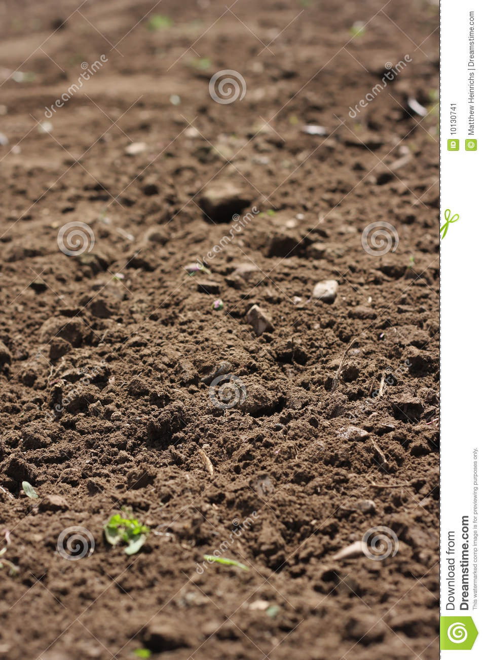 Freshly cultivated garden soil stock image image 10130741 for Soil quality definition