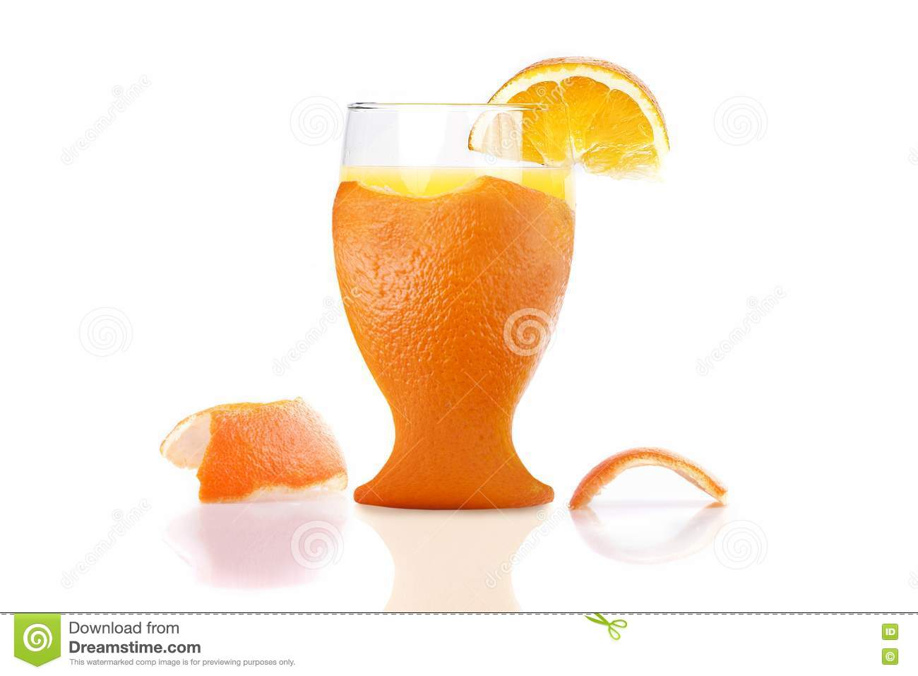 Slow Juicer Orange Peel : Freshly Peel Orange Juice Royalty Free Stock Photography - Image: 17552367