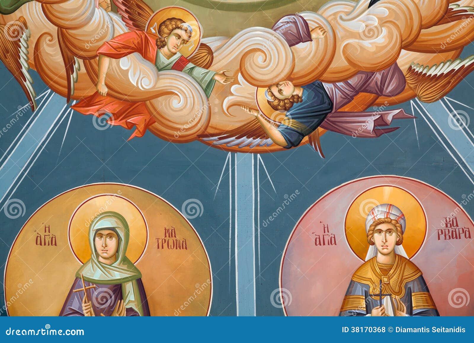 Fresques bizantins
