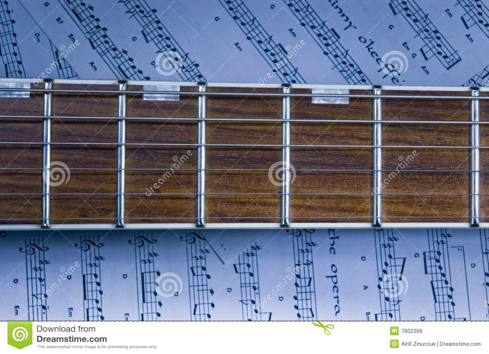 Fretboard吉他