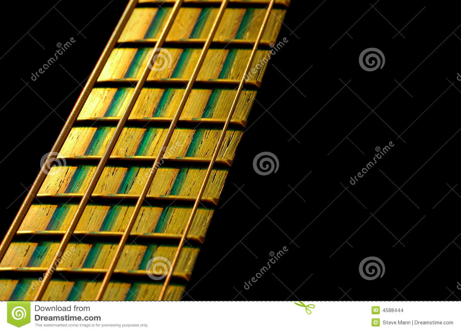 Fretboard basso