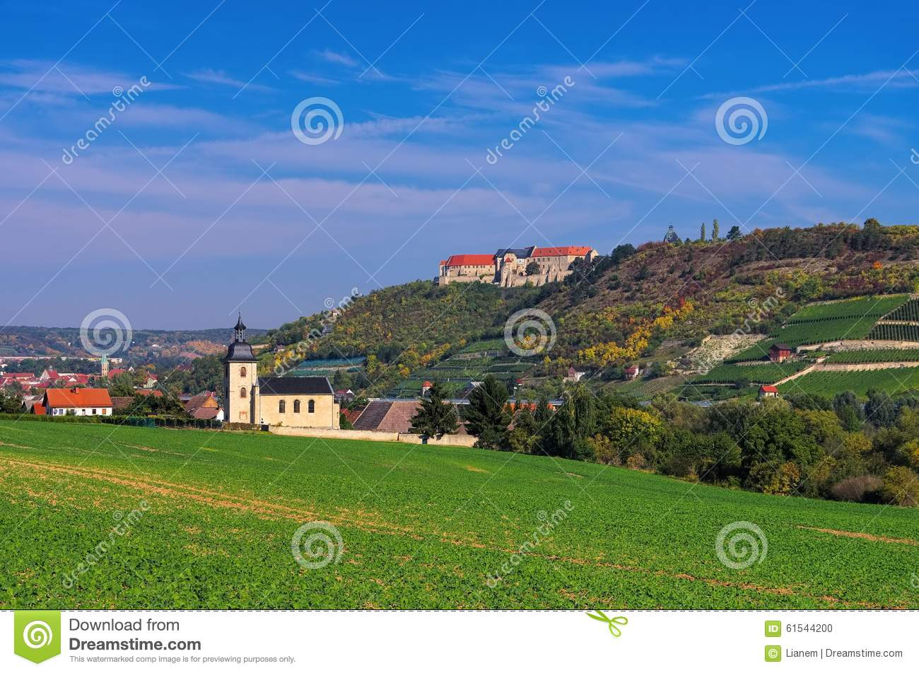 Freyburg (Unstrut) Germany  City new picture : Freyburg in Saale Unstrut wine growing area.