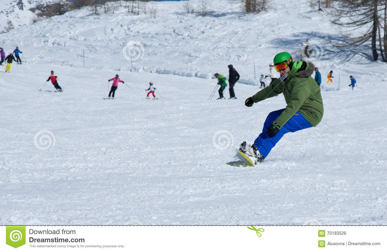 Fri snowboardstil