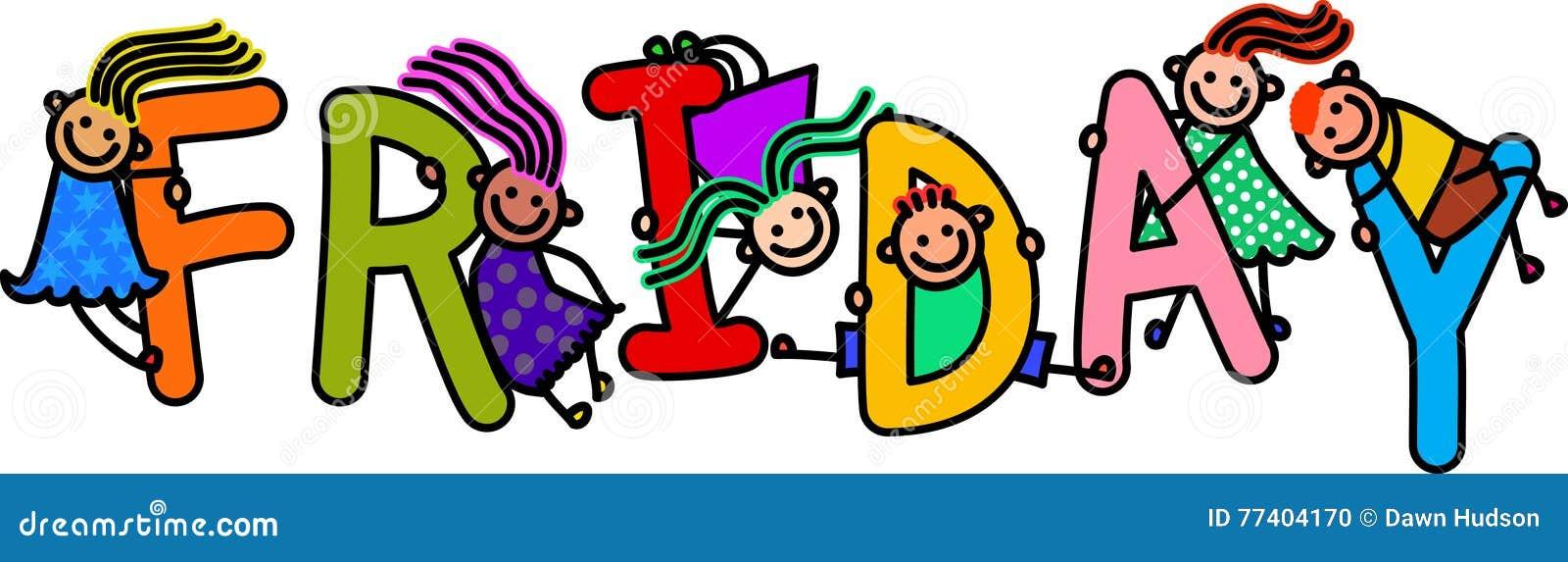 Friday Kids Stock Illustrations – 458 Friday Kids Stock Illustrations,  Vectors & Clipart - Dreamstime