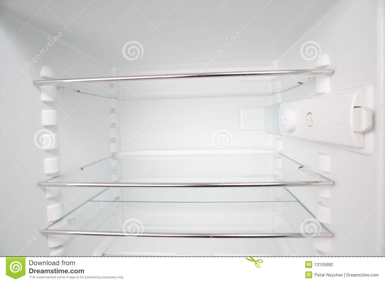 fridge shelves stock photo image of white inside empty 13105682 rh dreamstime com shelves for fridge doors shelves for fridge freezers lg ebay